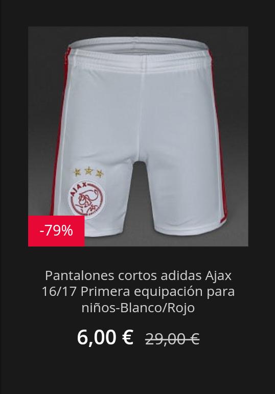 cheap for discount 13325 28845 Pantalón corto niños Ajax