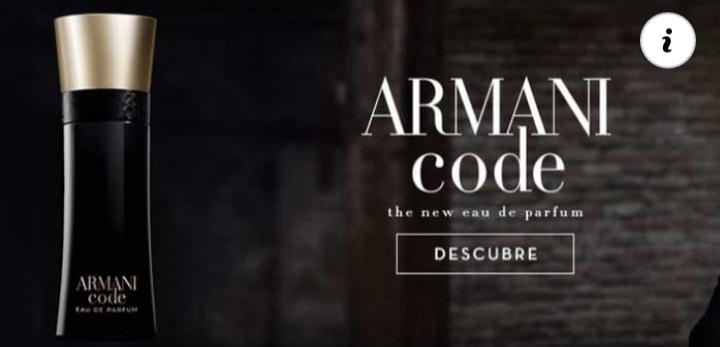 Muestras gratis de Armani EDP de Giorgio Armani