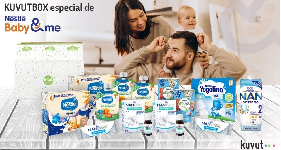 Kuvutbox especial Nestlé bebe