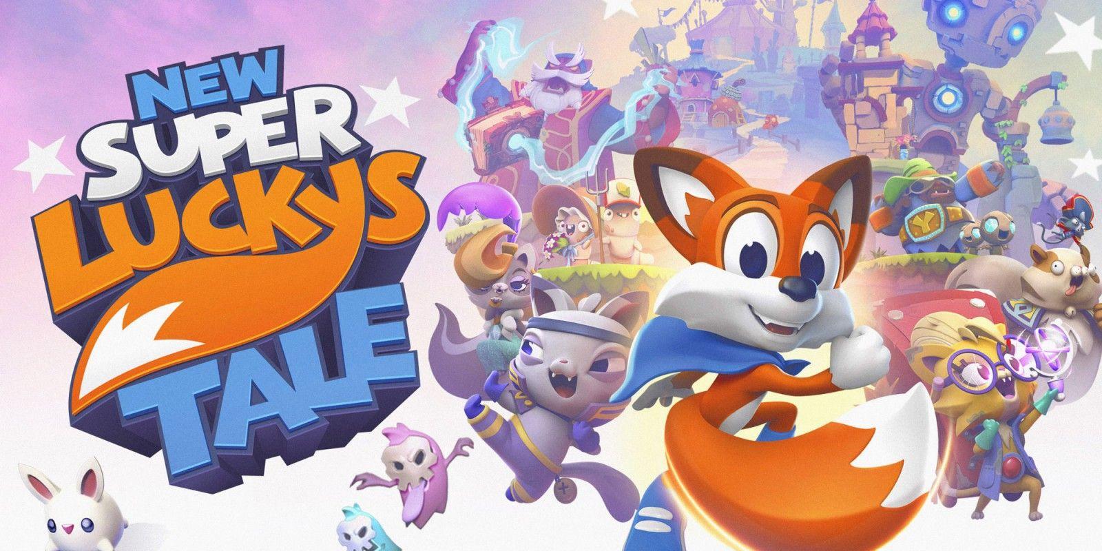 New Super Lucky's Tale (Código en caja) - Nintendo switch