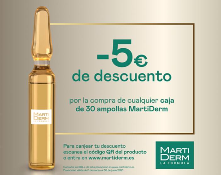 Reembolso ampollas MartiDerm (caja de 30)