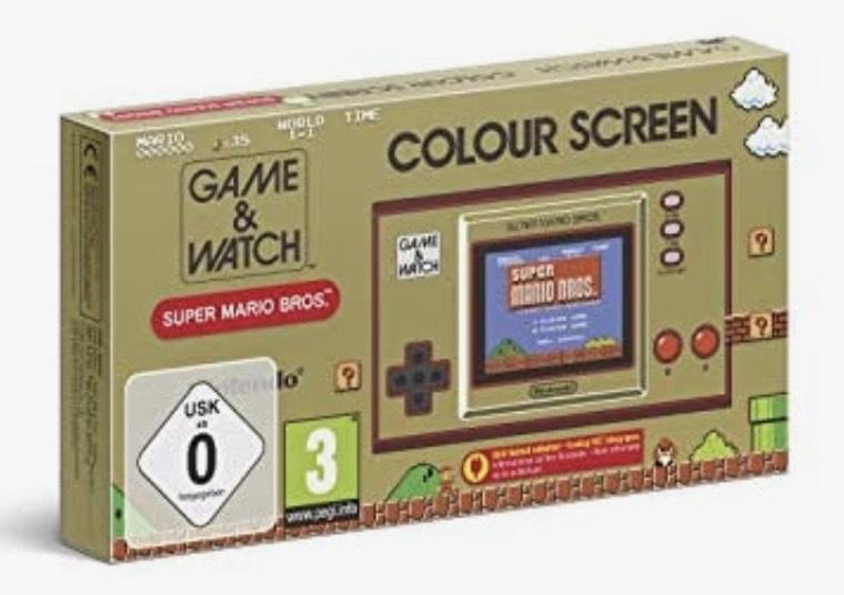 Game&Watch: Super Mario Bros