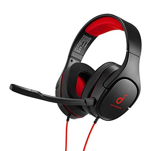 Anker Soundcore Strike 1 Gaming Auriculares, auriculares de diadema para PS4, Xbox, PC, sonido estéreo, mejorado sonido para FPS,