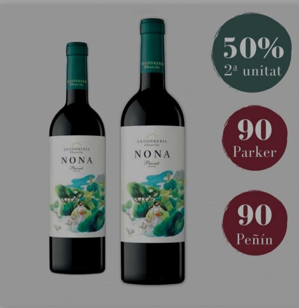 Vino tinto DOQ Priorat Nona 2018+Visita