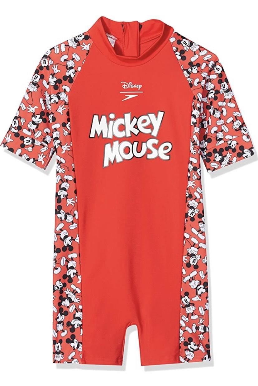Talla 6 mono de baño Speedo Mickey