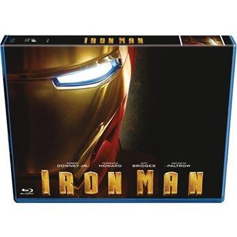 Iron Man - Blu-Ray Ed Horizontal + Blu-Ray Extras