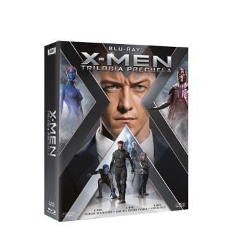Pack Trilogía X-Men Precuela - Blu-Ray + REGALO SORPRESA
