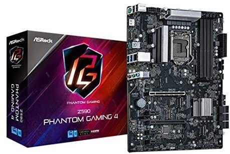 ASROCK Z590 Phantom Gaming 4 ATX Intel Z590 DDR4 S1200 retai