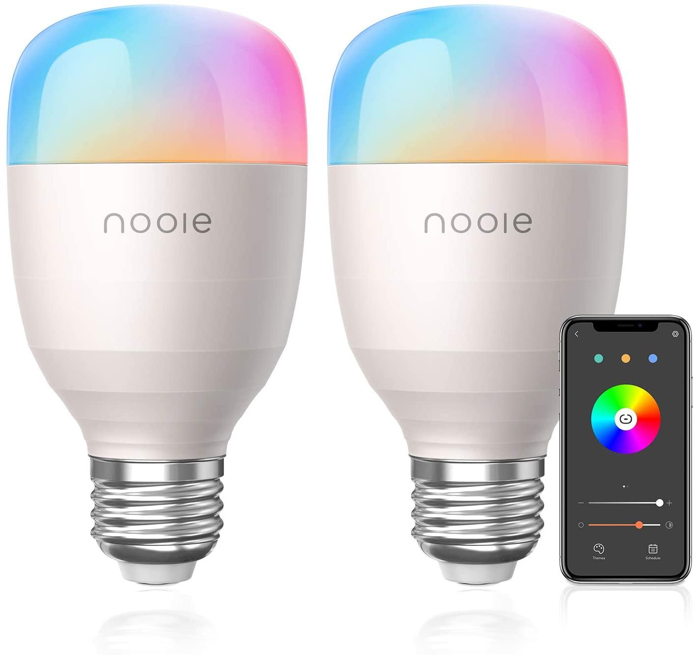 Pack 2 bombillas Alexa & Google solo 14.9€