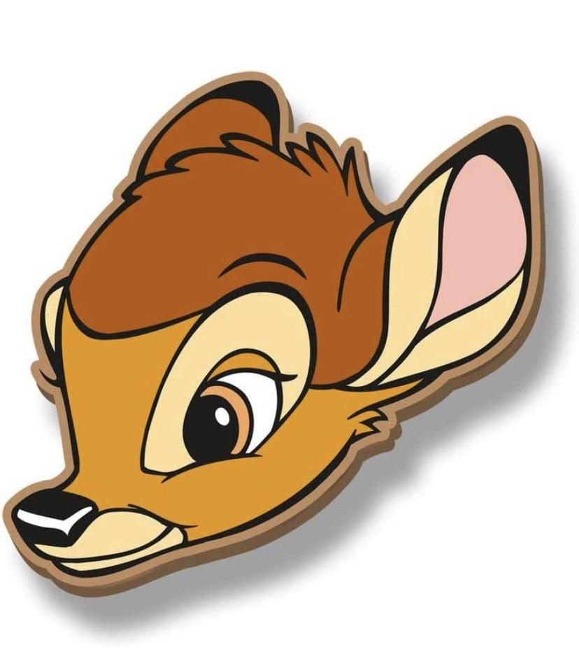 Disney Icons Bambi-Monedero más en descripción