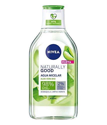 Agua micelar Nivea Naturrally good con aloe vera