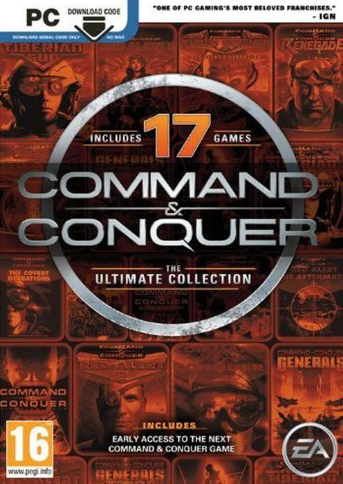 Command & Conquer The Ultimate Collection, 10 juegos y 7 expansión [PC]