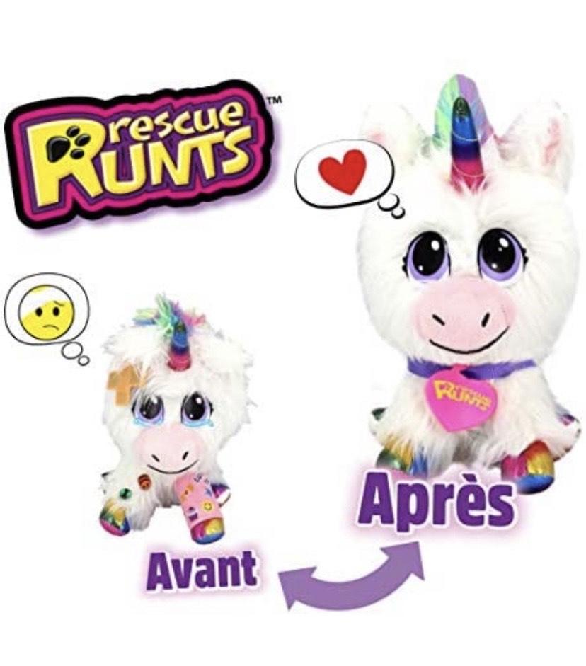 Juguete de Unicornio para niños de Rescue Runts