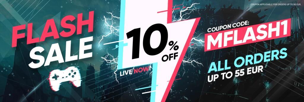 Nuevo código de 10% para Gamivo