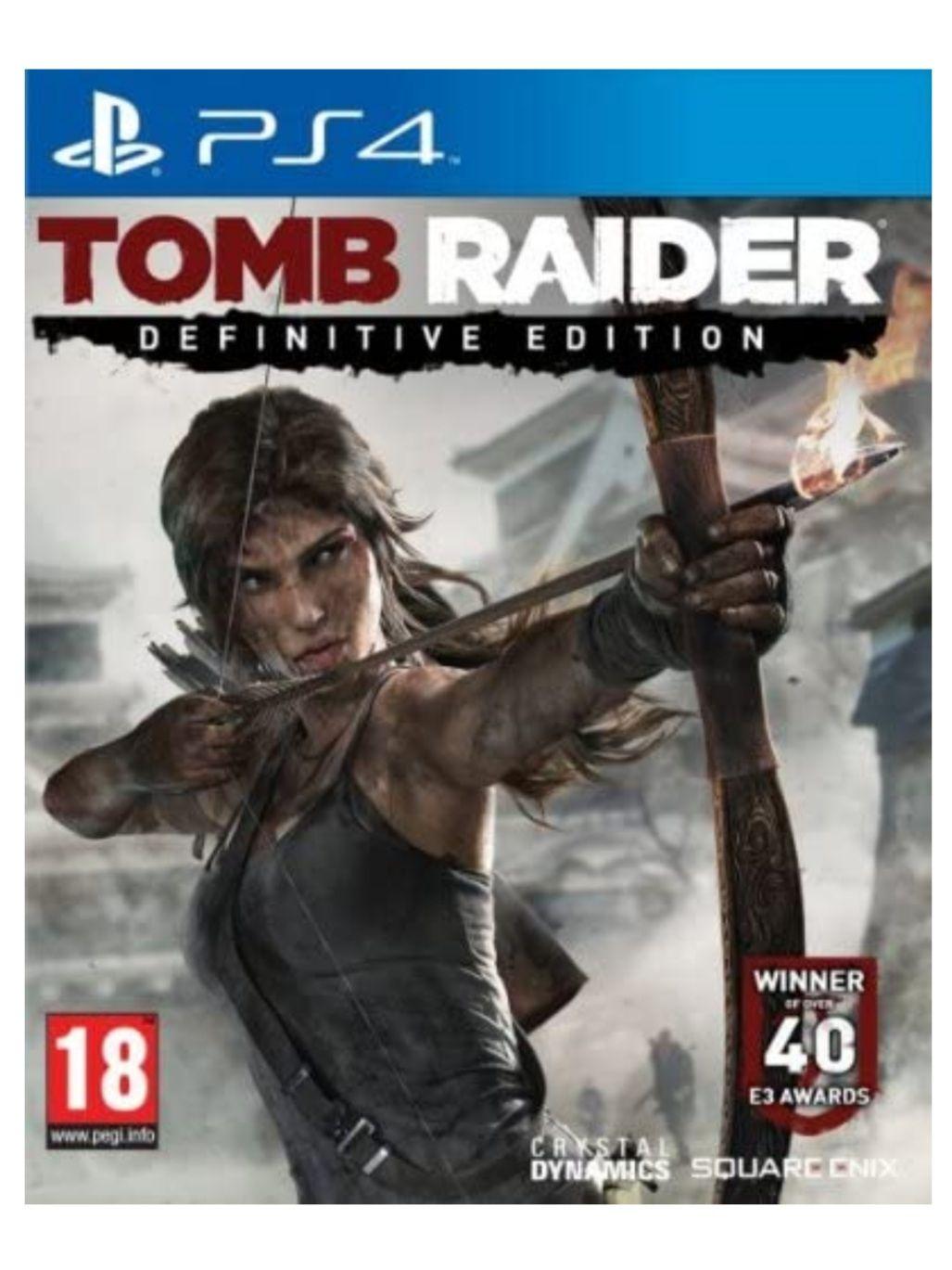 Tomb Raider Definitive Edition - PS4 (Mediamarkt y Amazon)