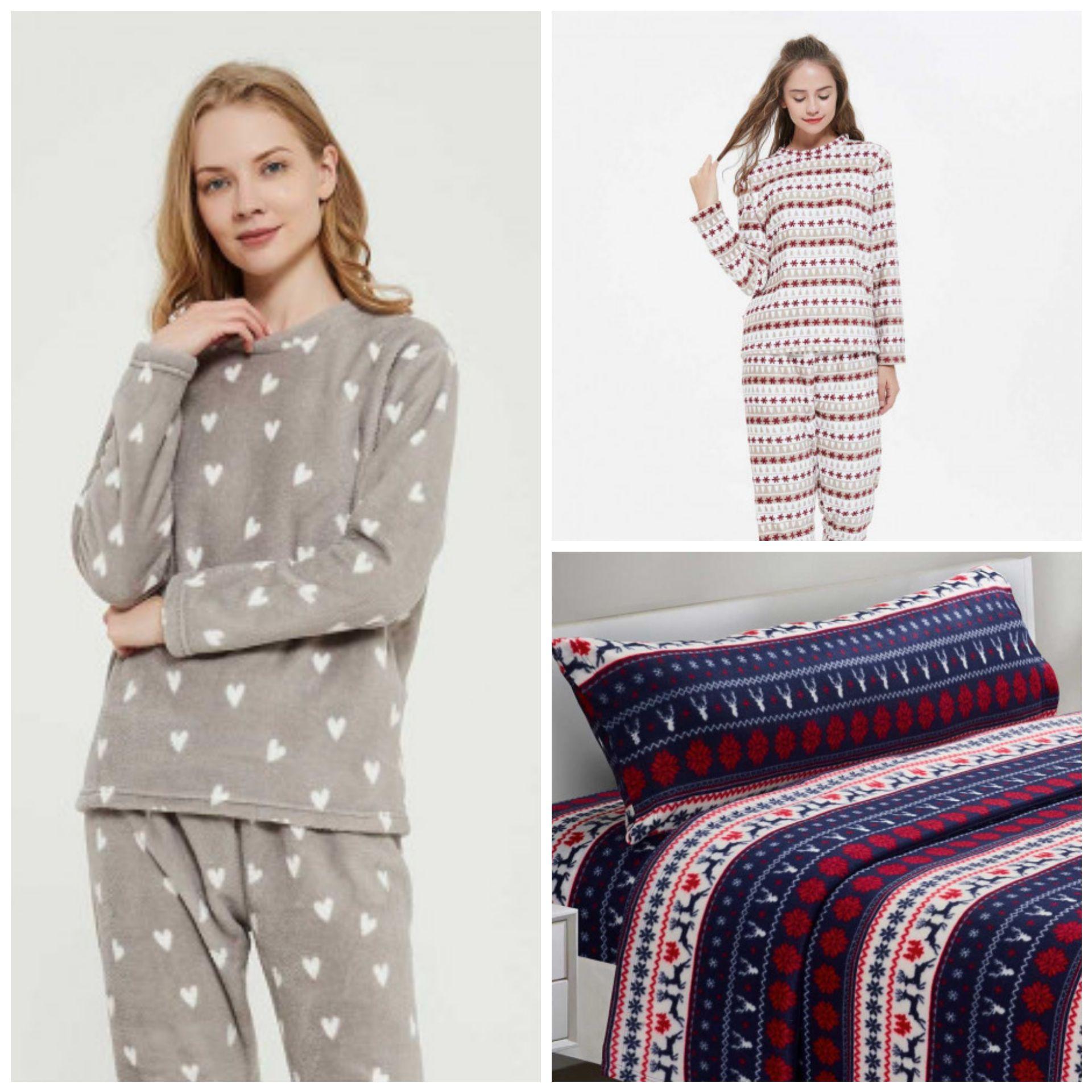 Pijamas para Mujer por 5,99€ y Juego de Sábanas Cama 90 por 9,99€