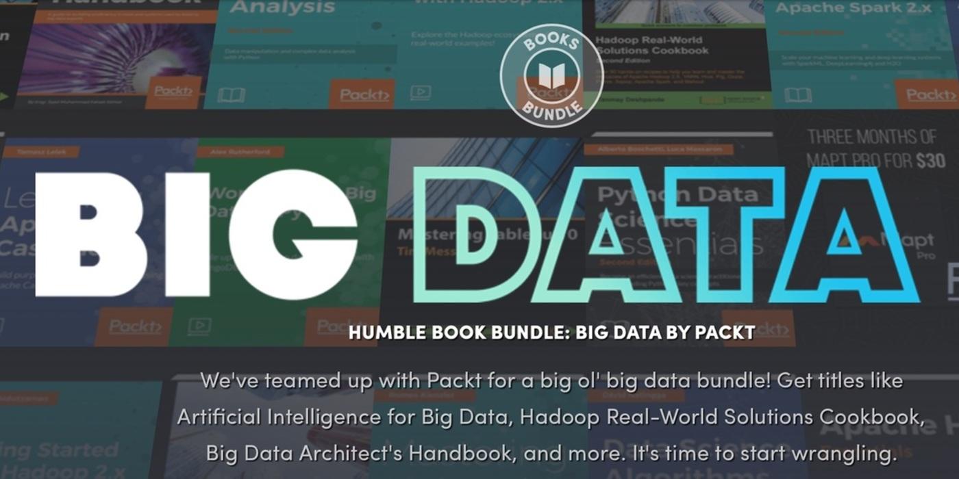 Humble Book Bundle: Libros sobre Big Data
