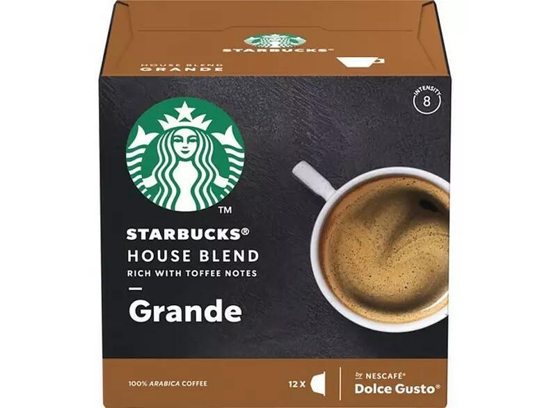 36 cápsulas de café Starbucks Dolce Gusto (3 x 12 uds) por 7,18€ (0,199€/unidad) (+ cápsulas en el interior)