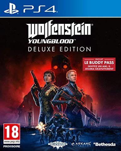 Wolfenstein Youngblood - Edición Deluxe PS4 FÍSICO