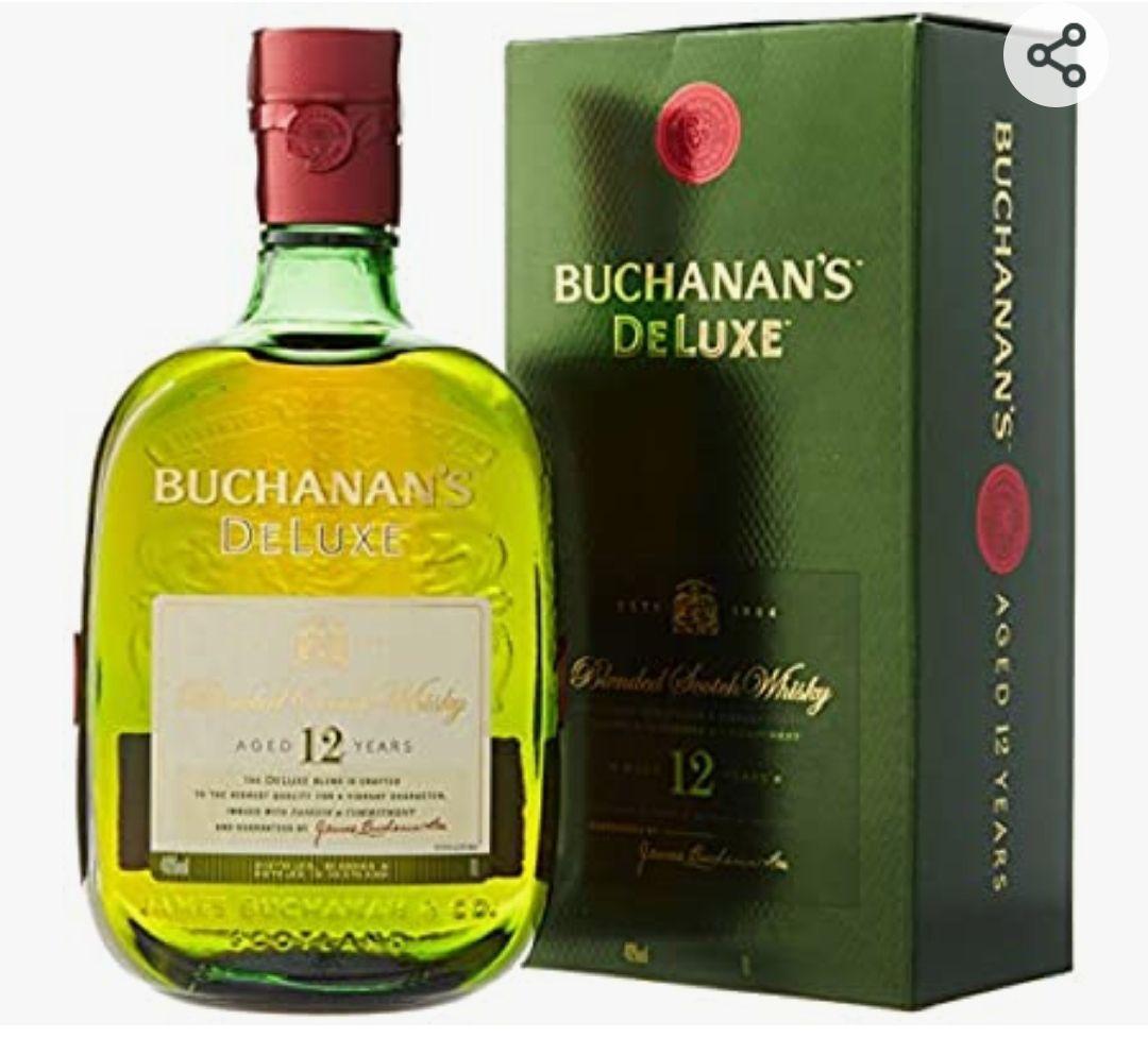 Buchanan's Deluxe Whisky Escocés 12 años - 1000 ml