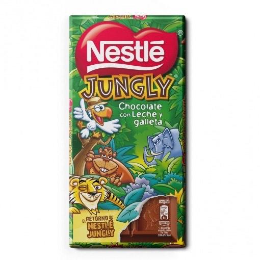 Chocolate Nestlé Jungly en Supermercados Mas a 1,49€/ud (online)