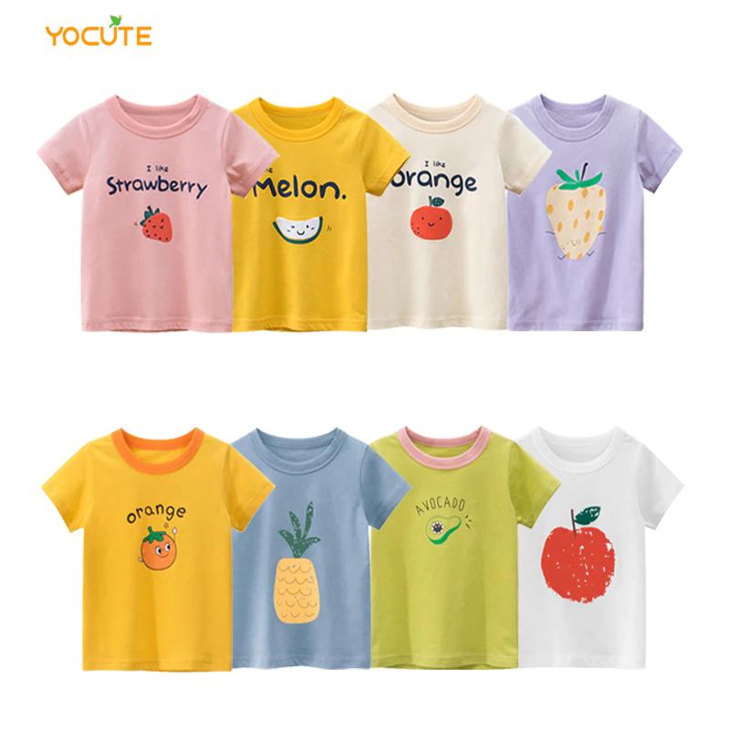 Camisetas niños tallas 24 meses a 8 años