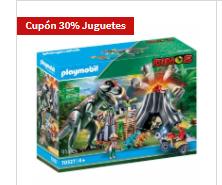 30% en cupón canjeable en todos los juguetes