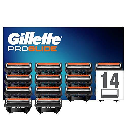 Gillette Fusion 5 ProGlide Cuchillas de Afeitar con Tecnología FlexBall (14 Cuchillas)