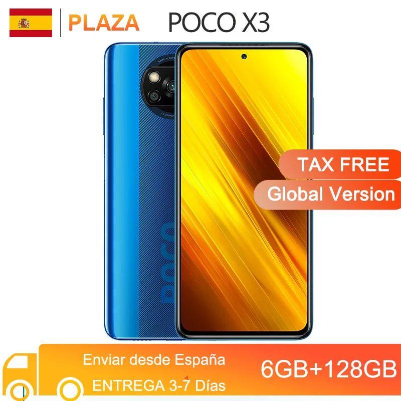 Poco X3 6/128Gb desde España
