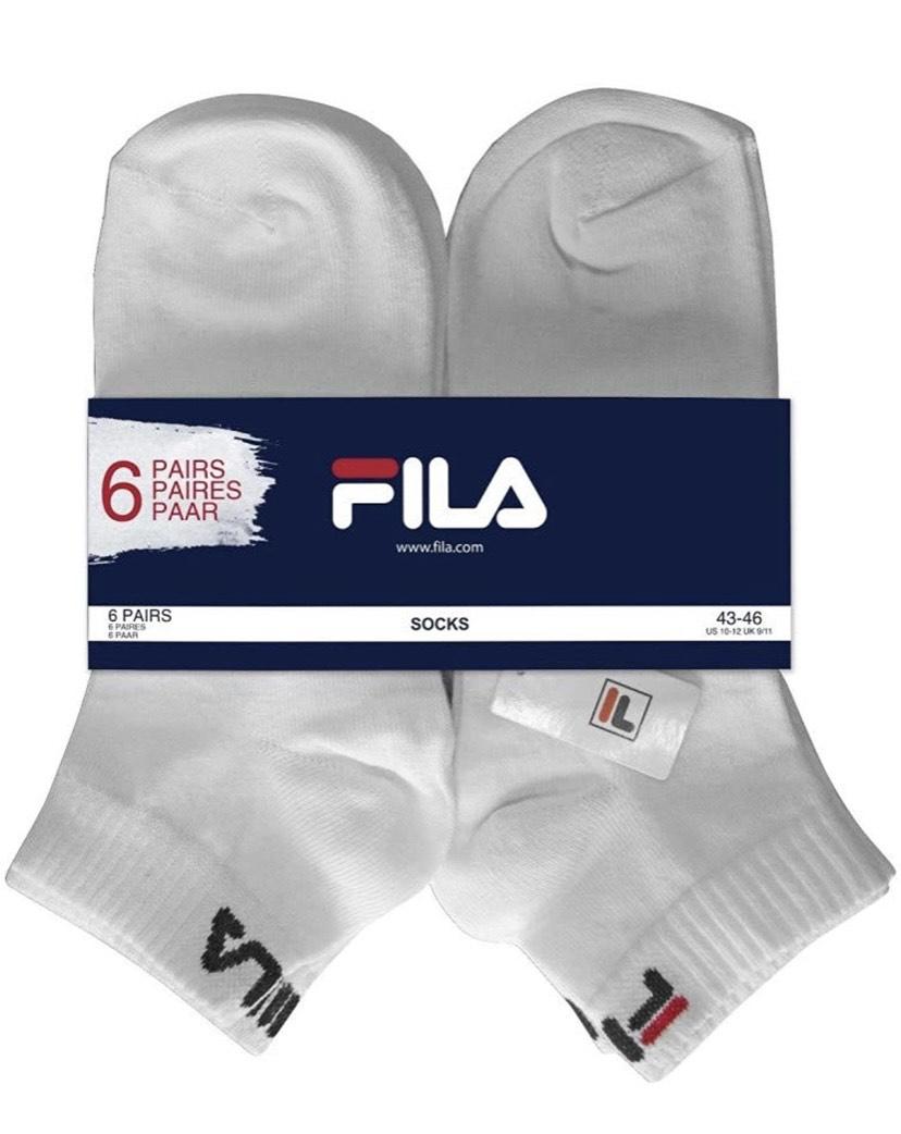 Talla 39/42 pack de 6 pares de calcetines Fila