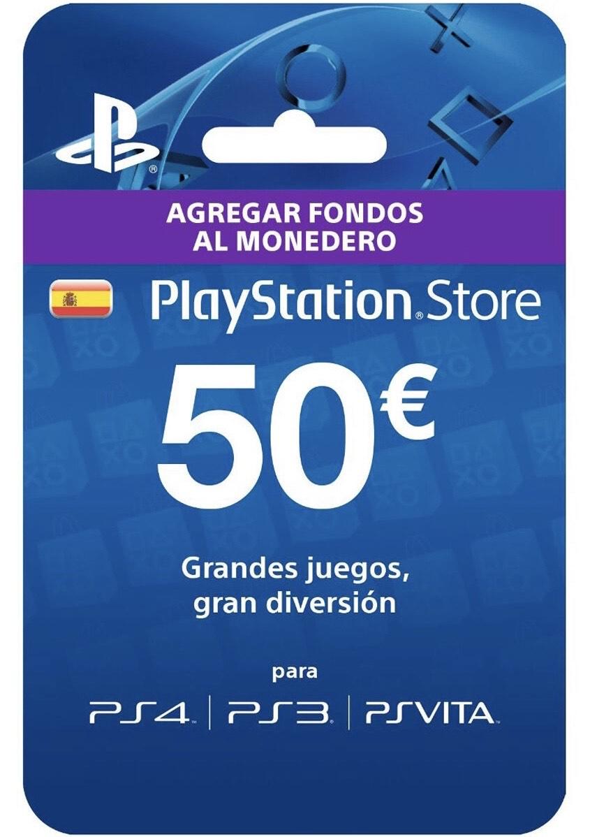 Tarjeta 50€ PSN por 37€