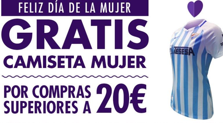 Camiseta Málaga de Mujer (por compras >20€)