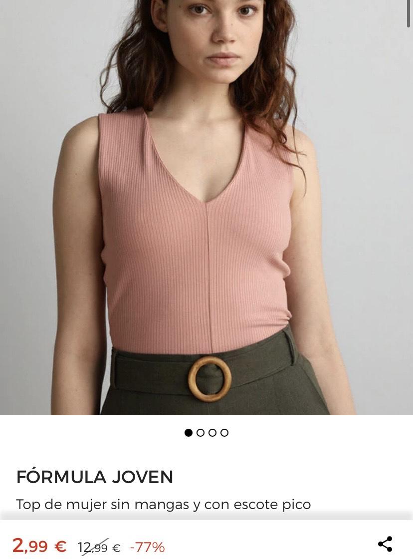Camisas, blusas y tops desde 2,99€