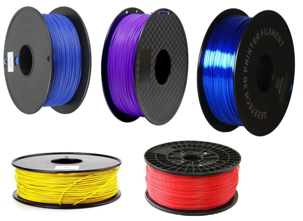 5KG Filamento PLA varios colores solo 11.6€ (desde Europa)