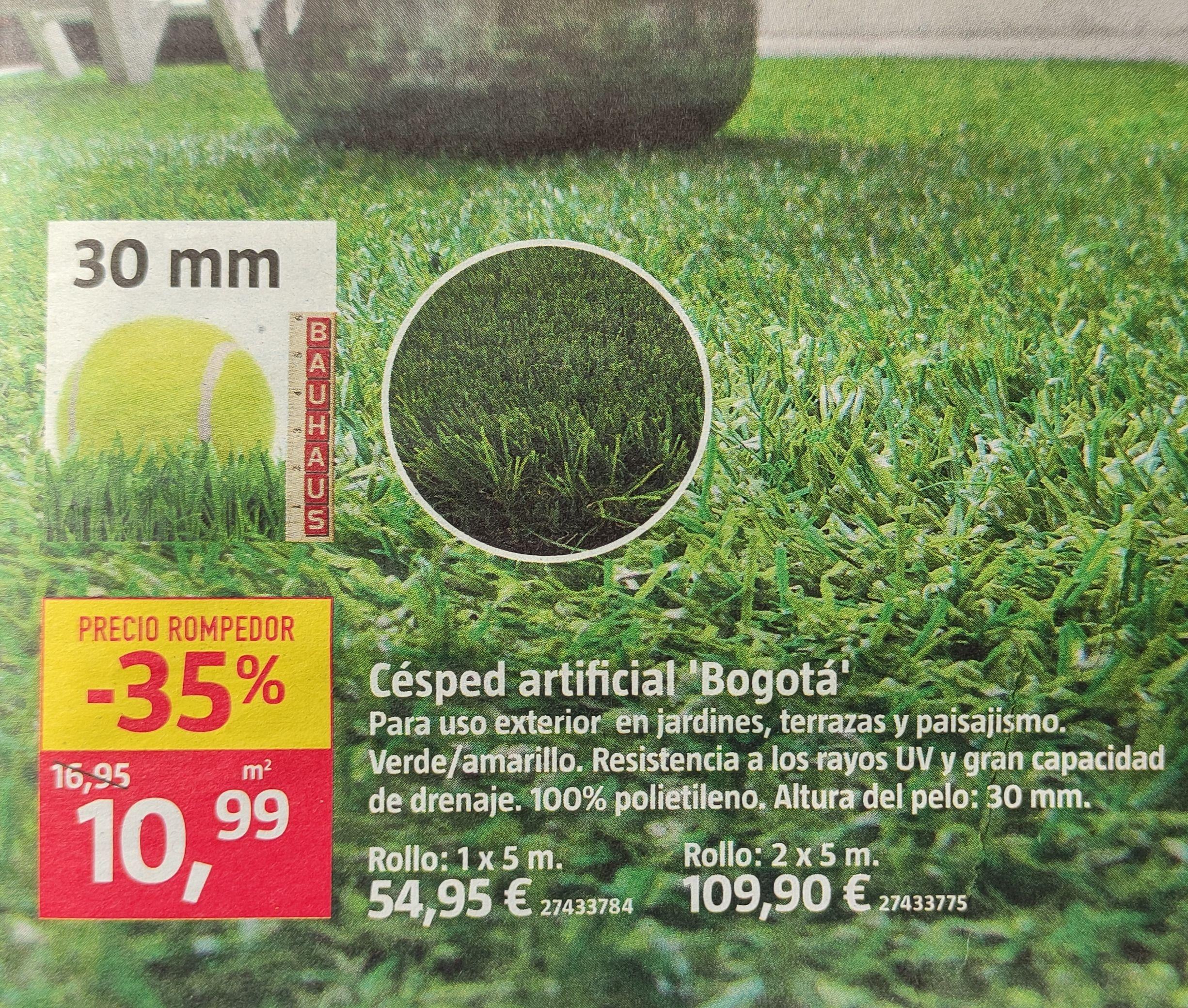 Césped artificial ~ Transforma la terraza en tu jardín privado
