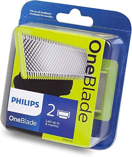 Philips QP220/50 - Philips OneBlade, 2 cuchillas [compra recurrente]