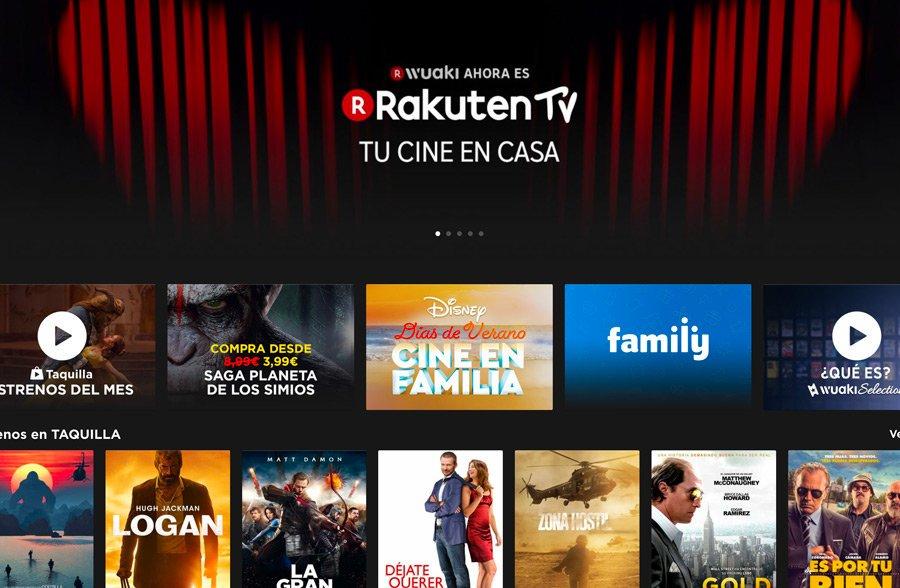 2 meses de Rakuten Wuaki gratis