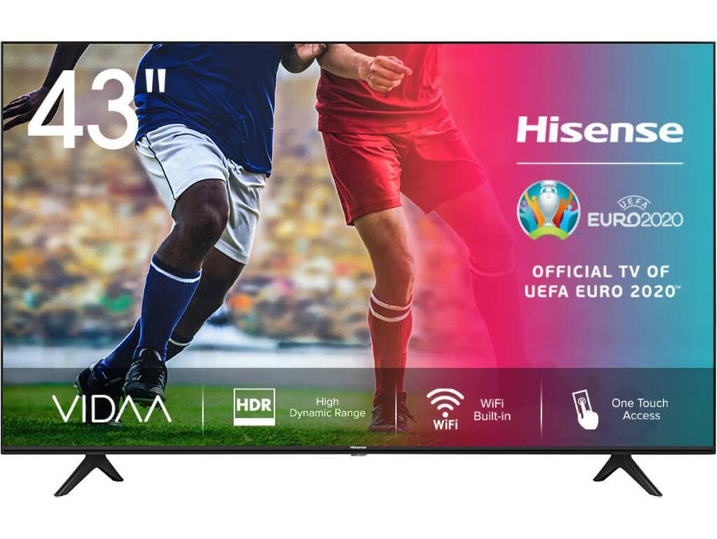 "TV Hisense 43"" 4K UHD, Smart TV HDR10 compatible con Alexa"
