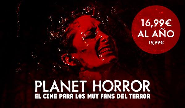 1 año de Planet Horror por 17€ (el Netflix del terror)