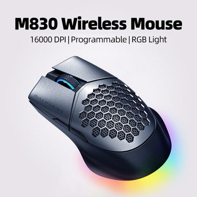 Ratón Óptico Inalámbrico Machenike M830 16000DPI [Desde España]