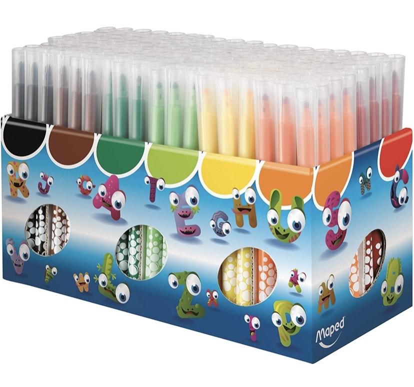 144 rotuladores Maped Color'Peps Long Life