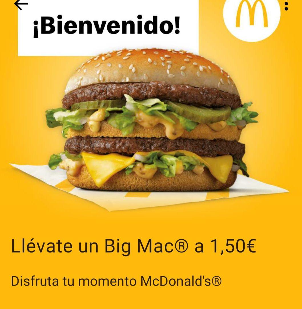 Big Mac a 1,5€