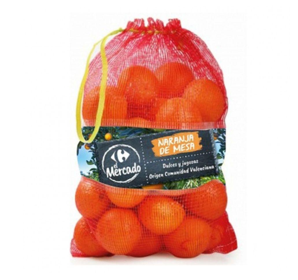 Naranjas de mesa Carrefour El Mercado saco de 6 kg a sólo 0'59€ kg (Origen C.Valenciana)