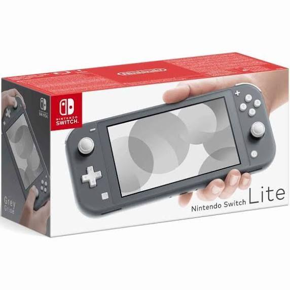 Consola - Nintendo Switch Lite, Portátil, Controles integrados, Gris