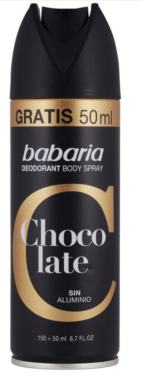Babaria Body Spray Corporal para Hombre - 200 ml