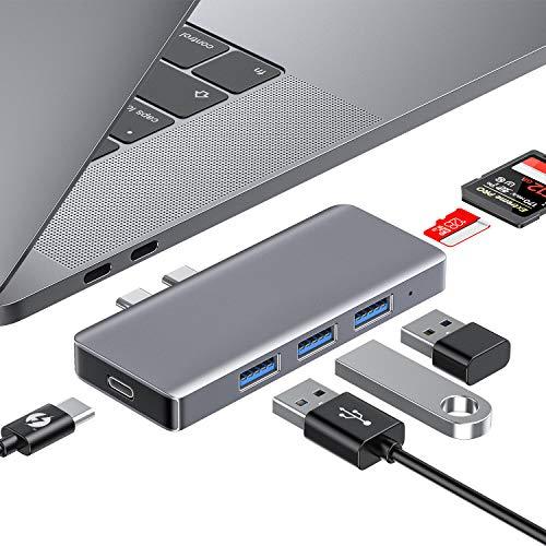 Hub para Macbook - 6 en 1 (Thunderbolt 3)