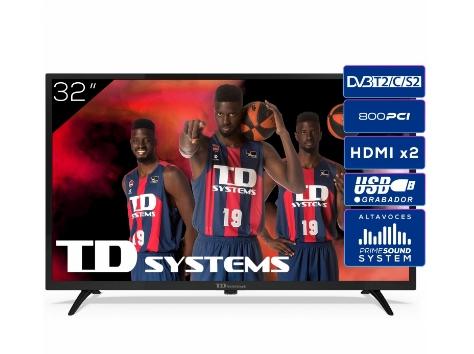 TV LED 81,28 cm (32) TD System