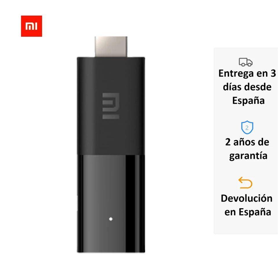 Xiaomi Mi stick desde España 26,63 o 24,64€ desde china