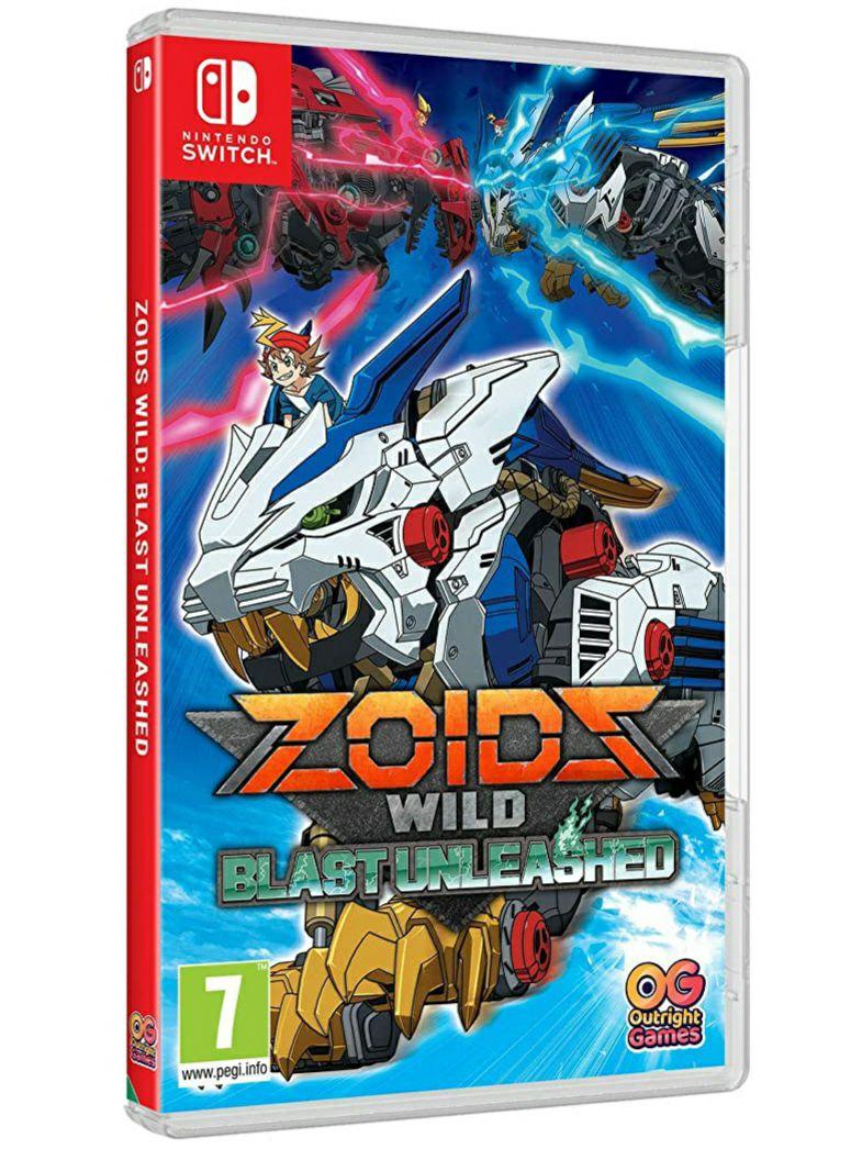Zoids Wild Blast Unleashed (Switch)