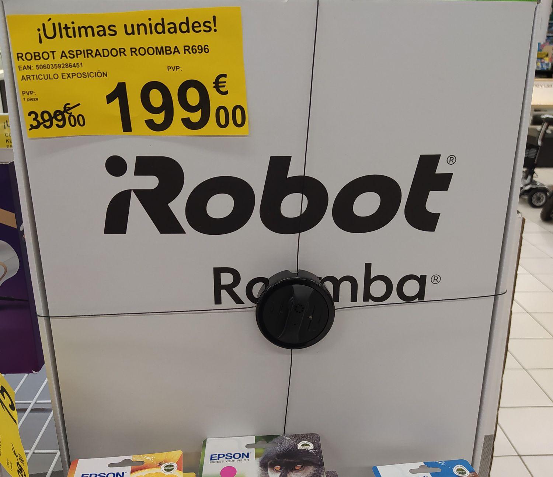 Robot Aspirador Roomba R696 en Carrefour de C. C Atalayas de Murcia